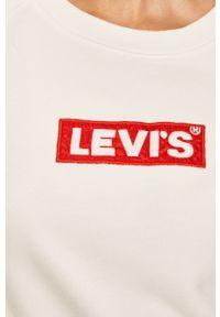 Biała bluza Levi's® w kolorowe wzory, na spotkanie biznesowe
