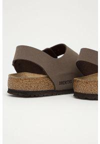 Sandały Birkenstock gładkie, na klamry