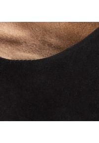 Czarne półbuty casual s.Oliver z cholewką