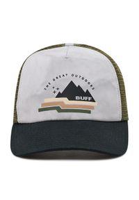 Buff - Czapka z daszkiem BUFF - Trucker Cap 127792.555.30.00 Sim Multi. Kolor: szary. Materiał: poliester, materiał