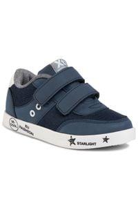 Xti - Sneakersy XTI - 57042 Navy. Zapięcie: rzepy. Kolor: niebieski. Materiał: skóra ekologiczna, materiał. Szerokość cholewki: normalna