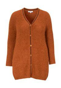 Sweter Zhenzi klasyczny, z klasycznym kołnierzykiem