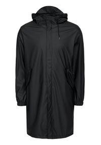 Rains Kurtka przeciwdeszczowa 1834 Czarny Regular Fit. Kolor: czarny