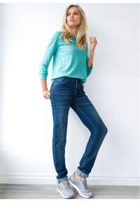 Dżinsy ze stretchem STRAIGHT bonprix ciemnoniebieski. Kolor: czarny