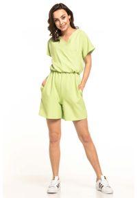 Zielony kombinezon Tessita krótki