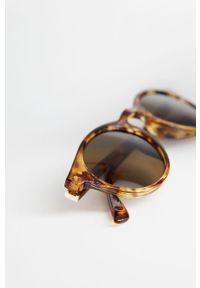 Brązowe okulary przeciwsłoneczne Mango Man