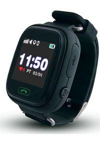Smartwatch CALMEAN Touch Czarny. Rodzaj zegarka: smartwatch. Kolor: czarny