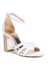 Białe sandały R.Polański eleganckie