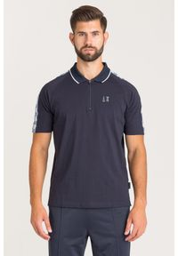 Koszulka polo Armani Exchange w kolorowe wzory, polo, sportowa