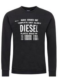 Diesel Bluza S-Gir-B5 00S57H 0BAWT Czarny Regular Fit. Kolor: czarny