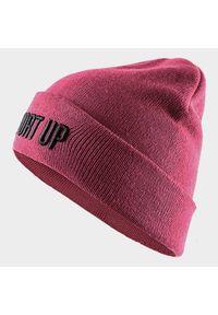 Różowa czapka zimowa outhorn #3