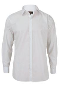 Elegancka koszula Jurel z długim rękawem, z klasycznym kołnierzykiem, długa