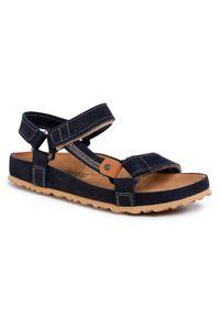 Niebieskie sandały Nik