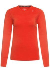 Craft Bielizna termoaktywna górna Fuseknit Comfort 1906592 Czerwony Slim Fit #6