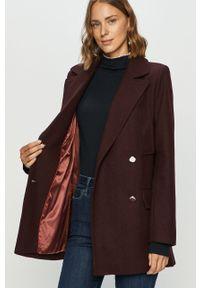 Fioletowy płaszcz Pepe Jeans klasyczny, na co dzień, z klasycznym kołnierzykiem #6