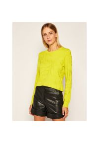 Żółty sweter Desigual