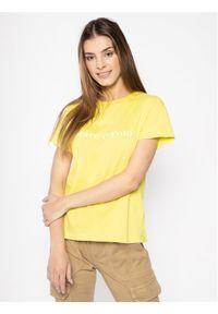 Marc O'Polo T-Shirt 002 2100 51169 Żółty Regular Fit. Typ kołnierza: polo. Kolor: żółty