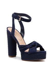 Niebieskie sandały Aldo eleganckie