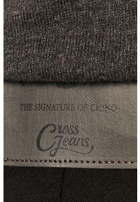 Czarne spodnie Cross Jeans