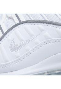Białe buty sportowe Nike Nike Air Max, z cholewką