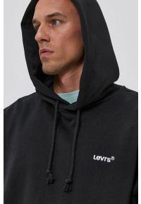 Levi's® - Levi's - Bluza. Okazja: na co dzień, na spotkanie biznesowe. Kolor: czarny. Wzór: aplikacja. Styl: biznesowy, casual #5