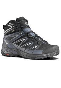 Buty trekkingowe salomon Gore-Tex, w jednolite wzory
