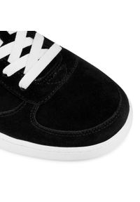 Czarne buty sportowe Hummel na co dzień, z cholewką