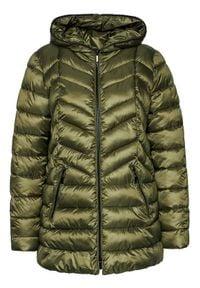 iBlues Kurtka puchowa Anemone 74860307 Zielony Regular Fit. Kolor: zielony. Materiał: puch