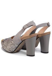 Szare sandały Libero klasyczne