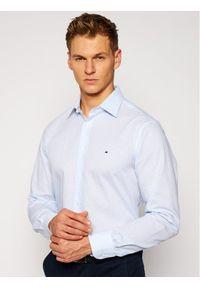Niebieska koszula casual TOMMY HILFIGER