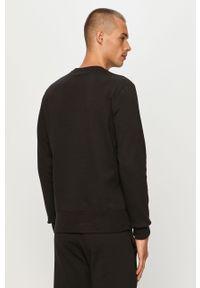 Czarna bluza nierozpinana Champion z aplikacjami, casualowa