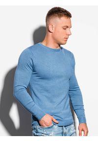 Niebieski sweter Ombre Clothing klasyczny