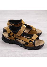 Brązowe sandały American Club