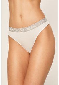 Emporio Armani Underwear - Emporio Armani - Stringi (2-pack). Kolor: biały