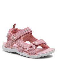 Bagheera - Sandały BAGHEERA - Onyx Jr 86488-32 C3908 Soft Pink/White. Kolor: różowy. Materiał: materiał