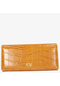 Cedar - Portfel damski cavaldi camelowy. Kolor: brązowy