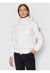 Armani Exchange Kurtka puchowa 8NYB40 YNYNZ 1100 Biały Regular Fit. Kolor: biały. Materiał: puch