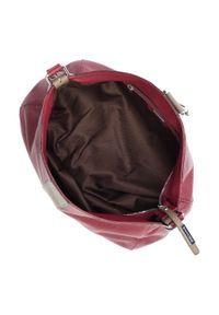 Czerwona torebka worek Wittchen #6