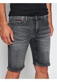 Szare spodenki jeansowe Tommy Jeans