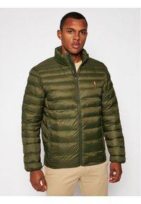 Zielona kurtka zimowa Polo Ralph Lauren polo