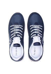 North Sails - Sneakersy NORTH SAILS - RW-04 First Navy. Okazja: na co dzień. Kolor: niebieski. Materiał: materiał, zamsz, skóra. Szerokość cholewki: normalna. Styl: casual, elegancki