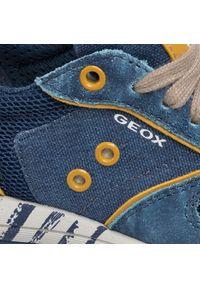 Niebieskie półbuty Geox