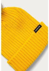 Żółta czapka DC
