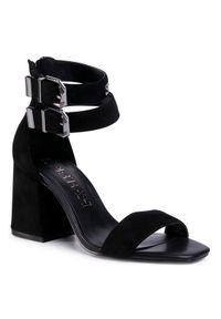 Czarne sandały SuperTrash