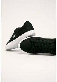 Lacoste - Tenisówki Lerond. Nosek buta: okrągły. Zapięcie: sznurówki. Kolor: czarny. Materiał: syntetyk, guma, materiał. Szerokość cholewki: normalna #2