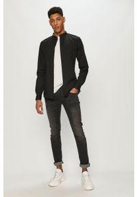 Szare jeansy