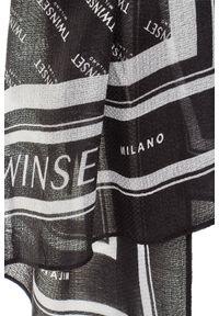 Chusta TwinSet w kolorowe wzory, na zimę
