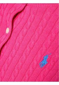 Różowy sweter Polo Ralph Lauren polo