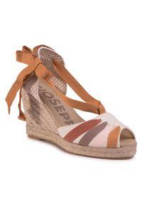 Beżowe sandały Gioseppo na co dzień, casualowe
