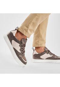 MICHAEL Michael Kors Sneakersy Baxter 42F0BAFS3L Brązowy. Kolor: brązowy